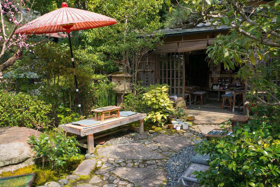 Momijian teahouse in Kyoto